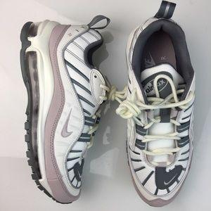 NEW Nike Air Max 98 Violet Ash Grey Womens Size 6